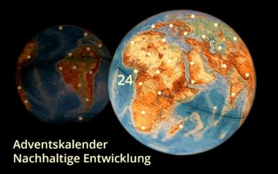 Adventskalender Nachhaltige Entwicklung 2017